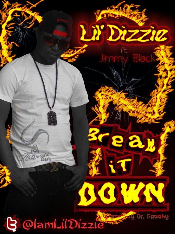 Lil' Dizzie ft. Jimmy Black - BREAK IT DOWN [prod. by Dr. Spooky] Artwork | AceWorldTeam.com