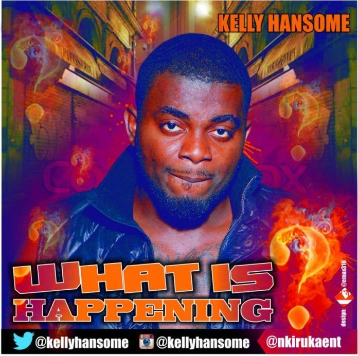 Kelly Hansome - WHAT IS HAPPENING Artwork | AceWorldTeam.com
