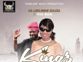 Olubunmi Dada ft. Mike Abdul - KING's PRAISE (prod. by Tyanx) Artwork | AceWorldTeam.com