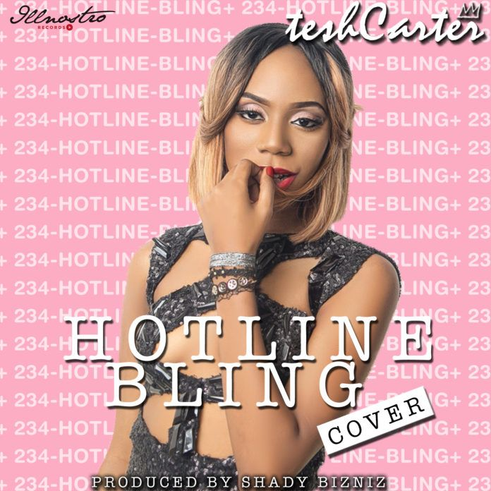 Tesh Carter - HOTLINE BLING (a Drake cover) Artwork | AceWorldTeam.com