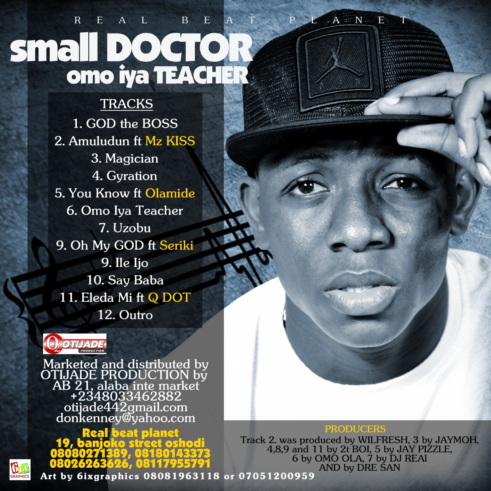 Small Doctor - OMO IYA TEACHER Back Artwork | AceWorldTeam.com
