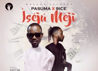 Pasuma ft. 9ice - ISEJU MEJI (prod. by Puffy Tee) Artwork | AceWorldTeam.com