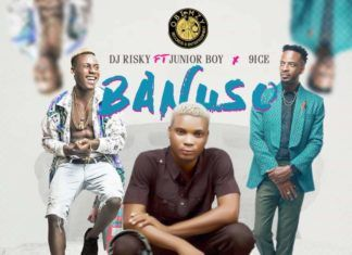 DJ Risky ft. Junior Boy & 9ice - BANUSO Artwork | AceWorldTeam.com