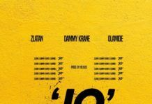 Dammy Krane ft. Zlatan & Olamide - JO (prod. by Rexxie) Artwork | AceWorldTeam.com