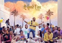 Davido – A Good Time (Album) Artwork | AceWorldTeam.com
