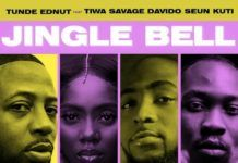Tunde Ednut - Jingle Bell (feat. Davido, Tiwa Savage & Seun Kuti) Artwork | AceWorldTeam.com
