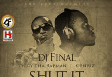 DJ Final ft. Terry tha Rapman & GeniuZz - SHUT IT DOWN [prod. by Butta] Artwork | AceWorldTeam.com