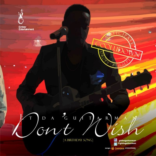 GT Da Guitarman - DON'T WISH [a Birthday song ~ prod. by Freq] Artwork | AceWorldTeam.com