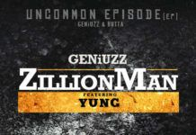 GeniuZz ft. Yung - ZILLION MAN [prod. by Butta] Artwork | AceWorldTeam.com